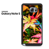 Beautiful Maple Leaves Samsung Galaxy Note 5 Case