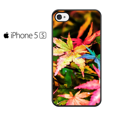 Beautiful Maple Leaves Iphone 5 Iphone 5S Iphone SE Case
