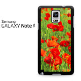 Beautiful Poppies Samsung Galaxy Note 4 Case