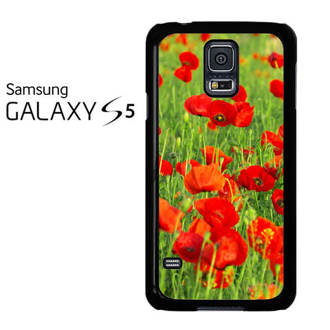 Beautiful Poppies Samsung Galaxy S5 Case