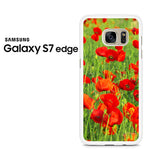 Beautiful Poppies Samsung Galaxy S7 Edge Case
