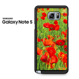 Beautiful Poppies Samsung Galaxy Note 5 Case