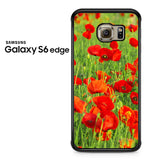 Beautiful Poppies Samsung Galaxy S6 Edge Case