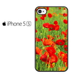 Beautiful Poppies Iphone 5 Iphone 5S Iphone SE Case