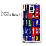 Best And Worst MLB Logos Samsung Galaxy Note 4 Case