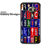 Best And Worst MLB Logos Samsung Galaxy S6 Edge Plus Case
