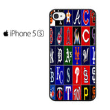 Best and worst MLB logos Iphone 5 Iphone 5S Iphone SE Case