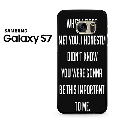 Best Friend Quote 2 Samsung Galaxy S7 Case