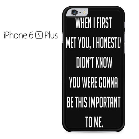 Best Friend Quote 2 Iphone 6 Plus Iphone 6S Plus Case
