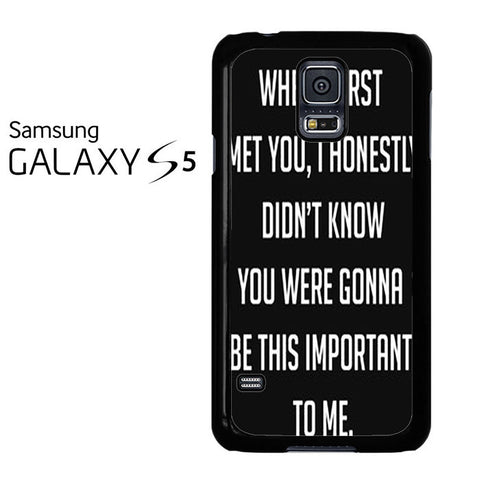 Best Friend Quote 2 Samsung Galaxy S5 Case