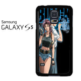 Black Lagoon Anime Samsung Galaxy S5 Case