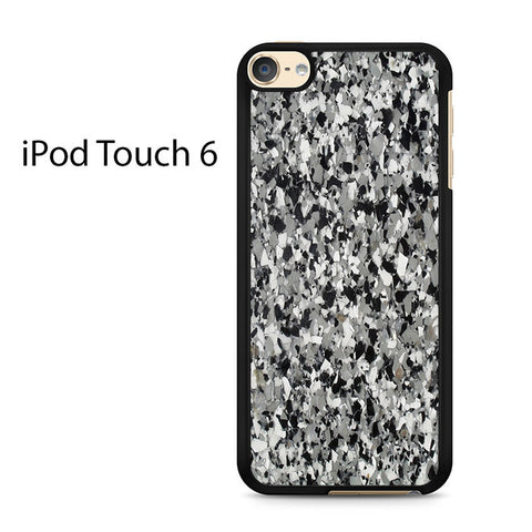 Black Marble Sparkle Ipod Touch 6