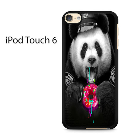Black Panda Donut Ipod Touch 6
