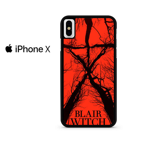 Blair Witch Poster Iphone X Case
