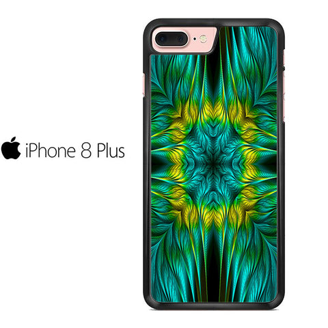 Blue Green Yellow Design Iphone 8 Plus Case