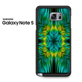 Blue Green Yellow Design Samsung Galaxy Note 5 Case