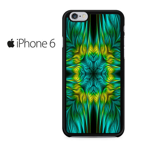 Blue Green Yellow Design Iphone 6 Iphone 6S Case