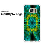 Blue Green Yellow Design Samsung Galaxy S7 Edge Case