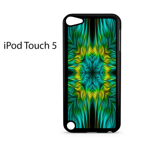 Blue Green Yellow Design Ipod Touch 5