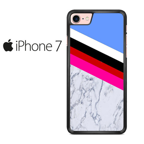 Blue Marble Stripe Iphone 7 Case