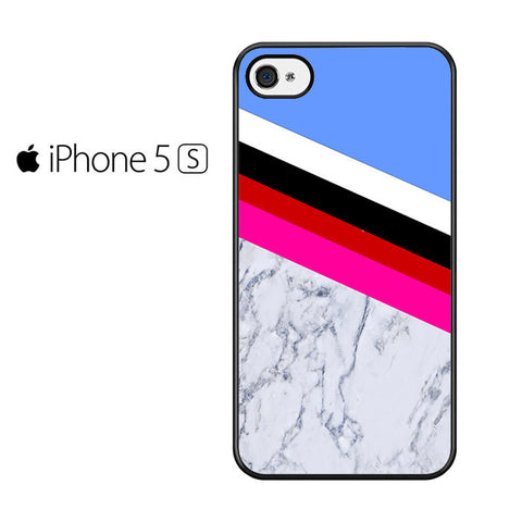 Blue Marble Stripe Iphone 5 Iphone 5S Iphone SE Case