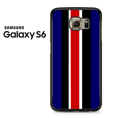 Blue Stripe Samsung Galaxy S6 Case
