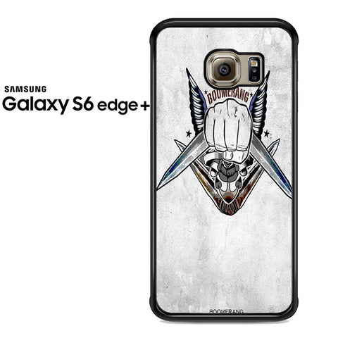 Boomerang Logo Samsung Galaxy S6 Edge Plus Case