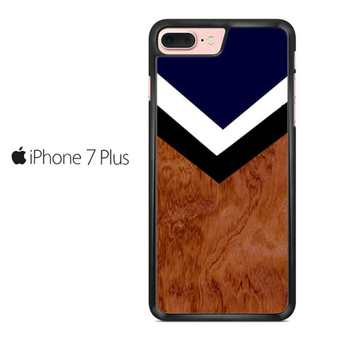 Brown Chevron Iphone 7 Plus Case