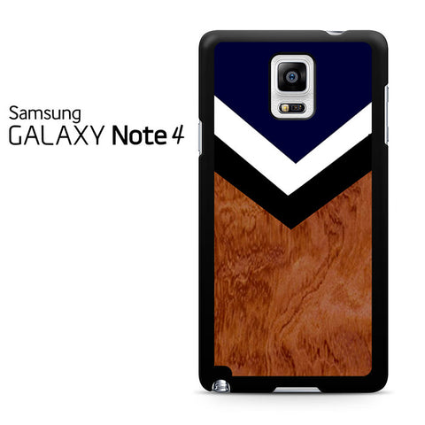Brown Chevron Samsung Galaxy Note 4 Case