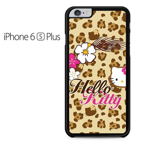 Brown Hello Kitty Iphone 6 Plus Iphone 6S Plus Case