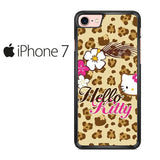 Brown Hello Kitty Iphone 7 Case
