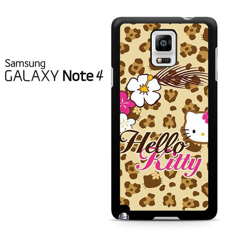 Brown Hello Kitty Samsung Galaxy Note 4 Case
