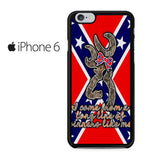 Browning Rebel Flag Iphone 6 Iphone 6S Case