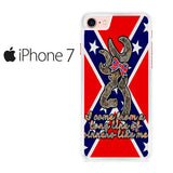 Browning Rebel Flag Iphone 7 Case