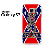 Browning Rebel Flag Samsung Galaxy S7 Case