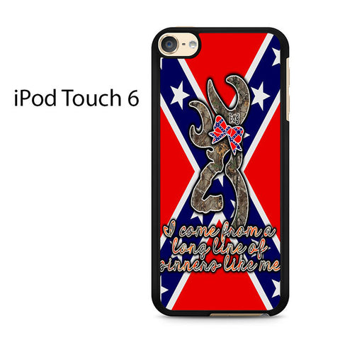 Browning Rebel Flag Ipod Touch 6