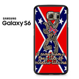 Browning Rebel Flag Samsung Galaxy S6 Case