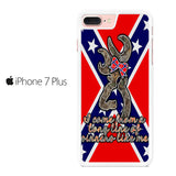 Browning Rebel Flag Iphone 7 Plus Case