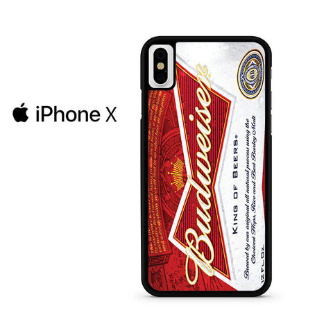 Budweiser Can King Of Beer Iphone X Case