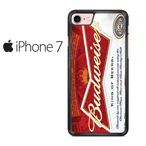Budweiser Can King of Beer Iphone 7 Case