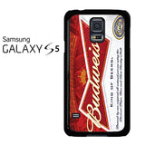 Budweiser Can King Of Beer Samsung Galaxy S5 Case