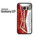 Budweiser Can King Of Beer Samsung Galaxy S7 Case