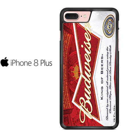 Budweiser Can King Of Beer Iphone 8 Plus Case