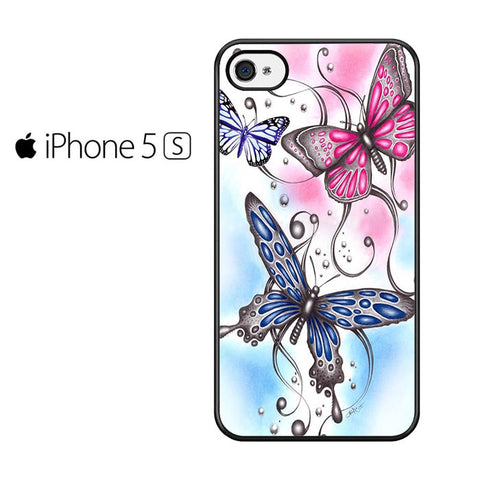 Butterfly Elegant Iphone 5 Iphone 5S Iphone SE Case