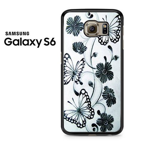 Butterfly Pretty Design Samsung Galaxy S6 Case