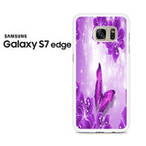 Butterfly Purple Samsung Galaxy S7 Edge Case