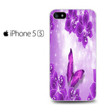 Butterfly Purple Iphone 5 Iphone 5S Iphone SE Case