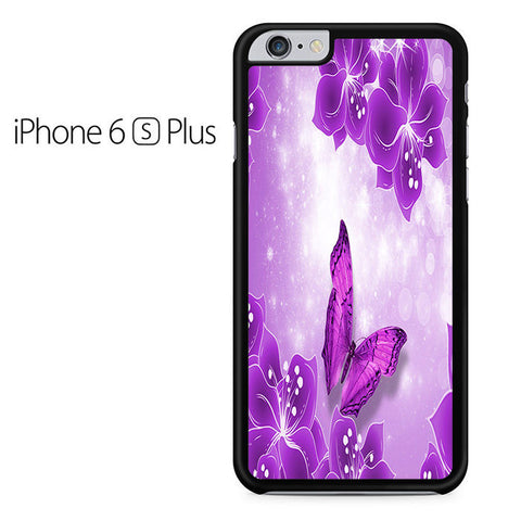 Butterfly Purple Iphone 6 Plus Iphone 6S Plus Case