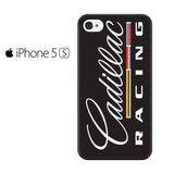 Cadillac Racing Vertical Logo Iphone 5 Iphone 5S Iphone SE Case