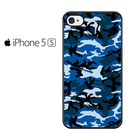 Camouflage Army Blue Iphone 5 Iphone 5S Iphone SE Case